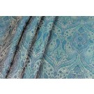 Banaras Brocade - Teal Green & Blue