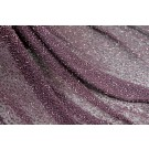 Beaded Silk Chiffon - Plum with Plum Beads