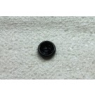 Vintage 60s Duffel Button - Black - Large