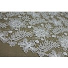 Guipure Lace - Delicate Floral - Ivory