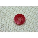 Red Resin Button- Medium