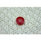 Red Resin Button- Small