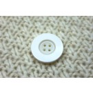 Ivory Resin Button- Large