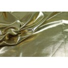 Metallic Foiled Lycra - Gold