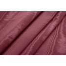 Cotton Viscose Grosgrain - Maroon Moire