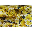 Floral Print Cotton - Yellow
