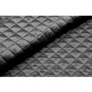 Quilted Silk Satin - Black