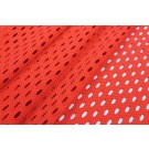 Perforated Airtex Texture Jersey - Red