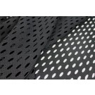 Perforated Airtex Texture Jersey - Black