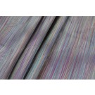 Striped Silk Dupion - Multi Purples