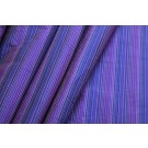 Multi Striped Silk Dupion - Purple