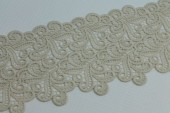 Cream Swirl Guipure Lace Trim