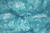Turquoise Chantilly Lace