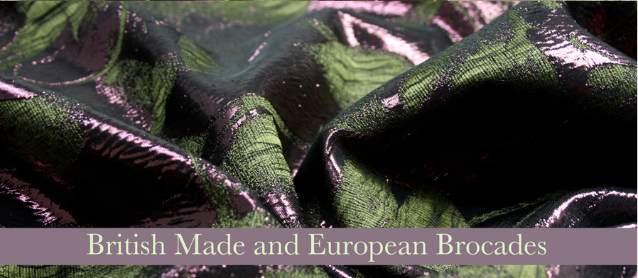 British made and European Brocades