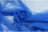 Soft Nylon Tulle - Electric Blue