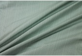 Striped Silk Taffeta - Mint