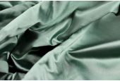 Poly Duchesse Satin - Sage Green
