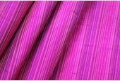 Multi Striped Silk Dupion - Pink