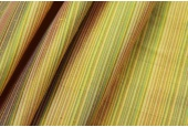 Multi Striped Silk Dupion - Bright Yellow