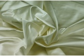Silk Duchesse Satin - Cream