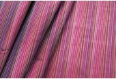 Multi Striped Silk Dupion - Red