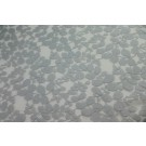 Leaf Pattern Lace - Pale Grey