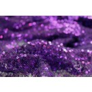 Sequin On Mesh - Purple