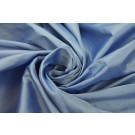Silk Dupion - Blue shot White - B26
