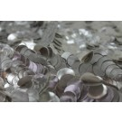 Leatherette Disc Sequin - Silver