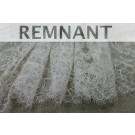 REMNANT: Chantilly Lace - Champagne Double Scallop