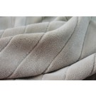 Plush Striped Cotton Velvet - Sand