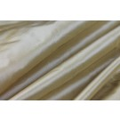 Silk Taffeta - Gold shot Ivory
