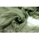 Soft Nylon Tulle - Olive Green
