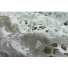 Cut Out Guipure Style Lace w/sequins - Ivory