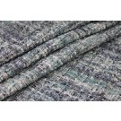 Chunky Multi Colour Silk Chenille - Grey/Blue
