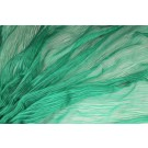 Distressed Silk Cotton - Bright Green
