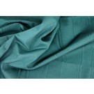 Cotton Viscose Grosgrain - Teal Moire