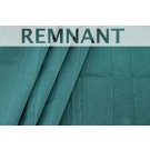 REMNANT: Cotton Viscose Grosgrain - Teal Moire - WHOLE PIECE 0.55m