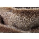 Faux Fur - Short Pile Chocolate Brown