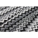 Zig Zag Knit - Black and White