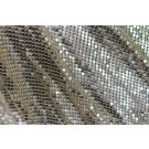 Metal Chainmaille Fabric - Gold