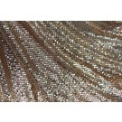 Metal Chainmaille Fabric - Copper - Whole piece