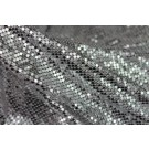 Metal Chainmaille Fabric - Silver