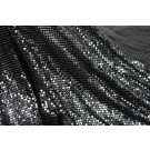 Metal Chainmaille Fabric - Black - Whole piece