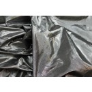 Metallic Dupion - Silver/Black