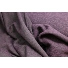 Boiled Wool Jersey Knit - Aubergine