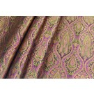 Banaras Brocade - Pink and Amber