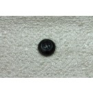 Marbled Black and Grey Plastic Button - Large