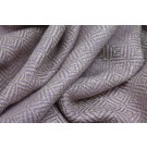 Glittery Check Silk Lurex Matka - Lilac/Natural
