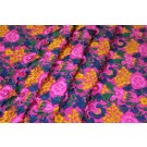 Ethnic Style Floral Embroidery - Pink/Multi